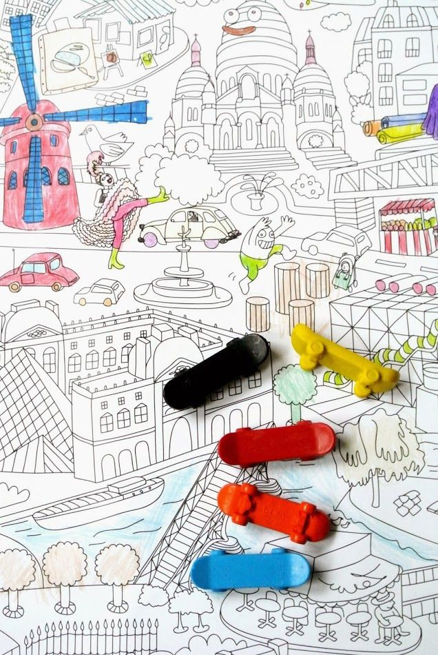 Little Helsinki: Coloring Paris