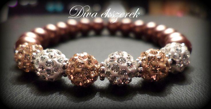 Shamballa bracelet. Check my site for more: facebook.com/divaekszerek