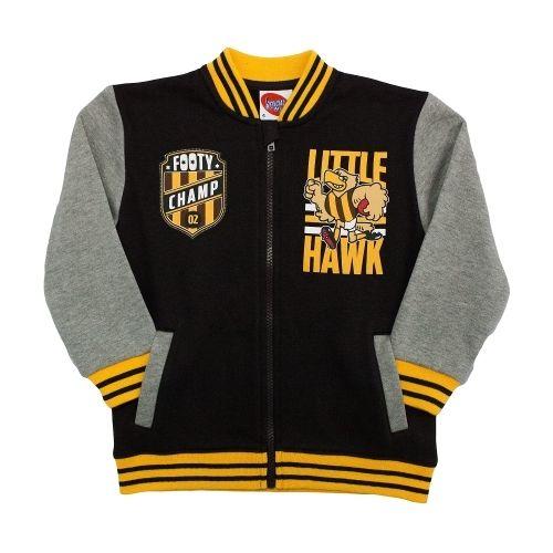 AFL Toddlers Varsity Zip Top Hawthorn Hawks