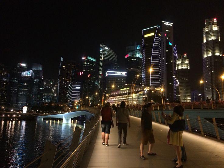 Marina Bay Sands at night 4