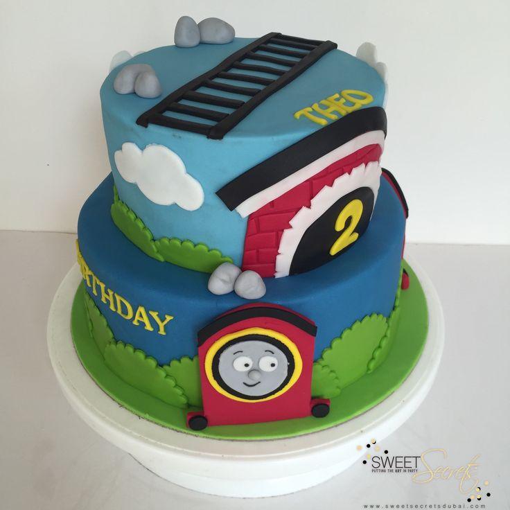 Thomas the Tank Engine Cake www.sweetsecretsdubai.com