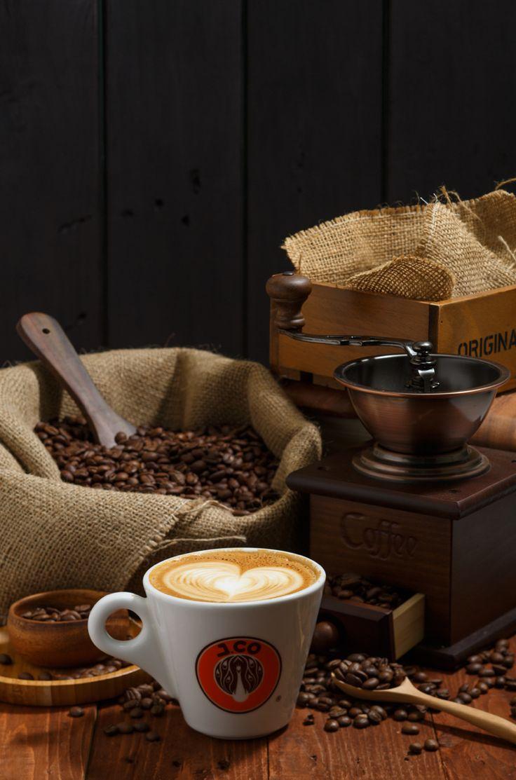 Jco coffee product still life
