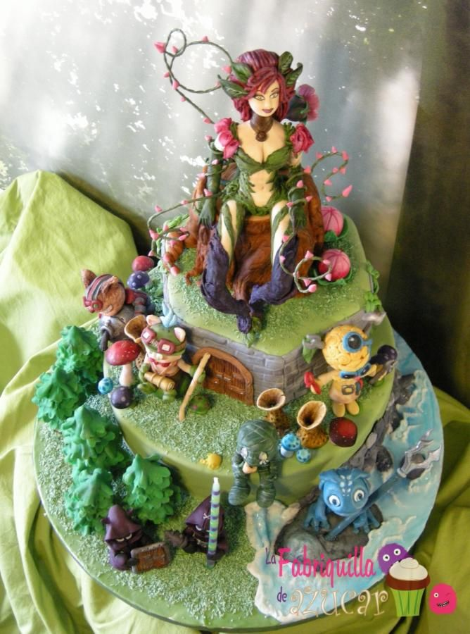 League Of Legends Cakes Amp Cake Decorating Daily