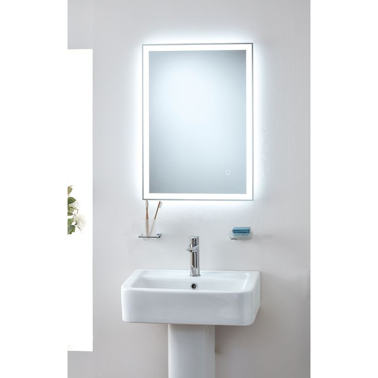 Our Orion colour changing mirror allows a warm or cool tint.