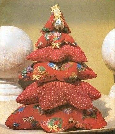 Árbol de Navidad: Fotos de diseños de patchwork