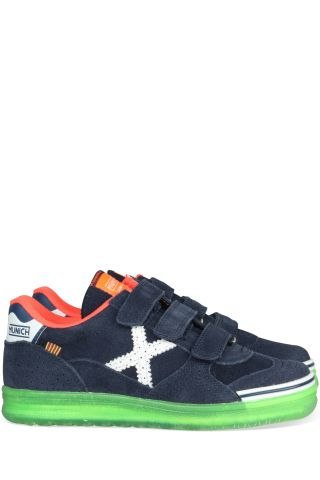 Munich G3 kid Velcro navy