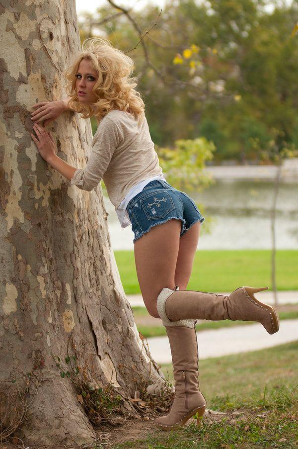 Girl hot girl go go boots bikini