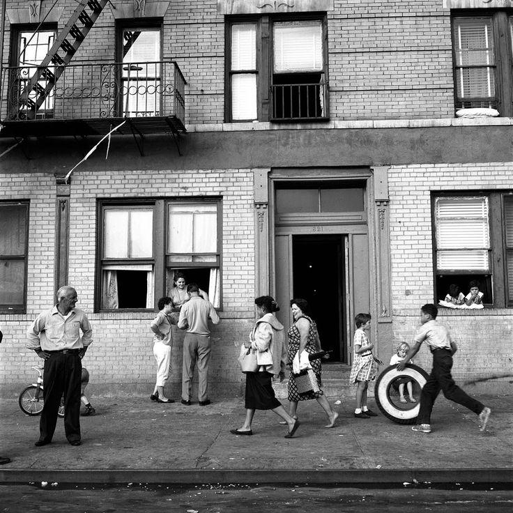 East 108 Street, New York, September 28, 1959. Vivan Meyer
