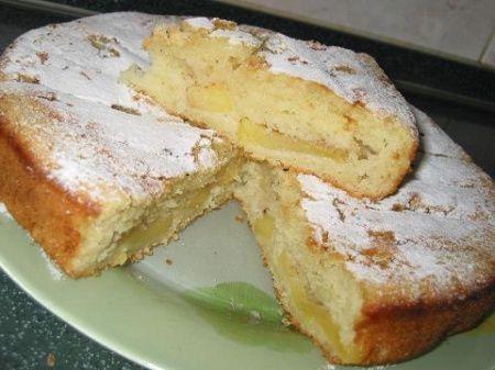 Рецепт - Кефирный пирог