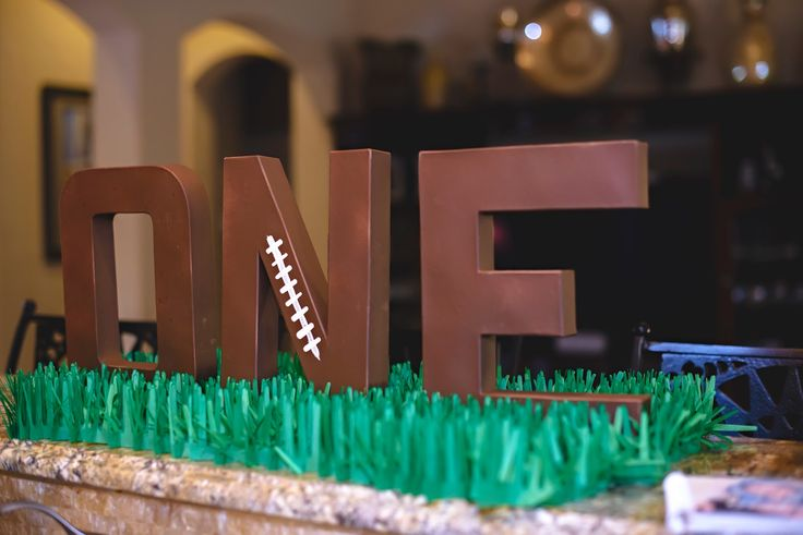 Baby's First Birthday | Boy | Football Party | Super Bowl Party | Decor                                                                                                                                                     More