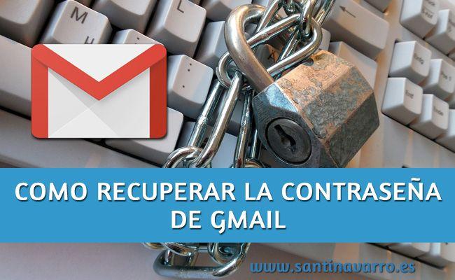 Como recuperar la contraseña de una cuenta de Gmail http://www.santinavarro.es/como-recuperar-contrasena-gmail-cuenta-de-google/