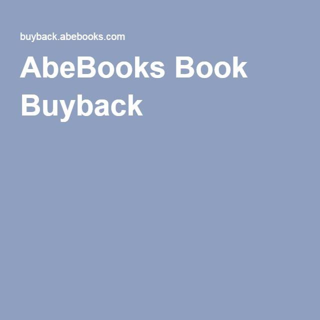 AbeBooks Book Buyback
