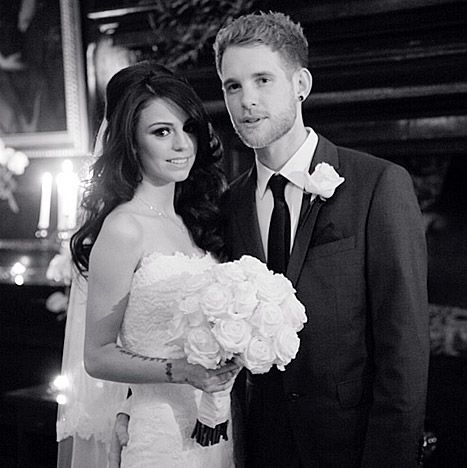 "Cher Lloyd Wedding Photo: ""Want U Back"" Singer Marries Craig Monk! - Us Weekly"