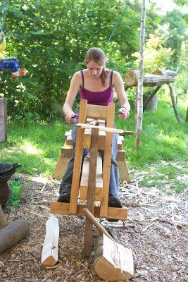 A Bodger's Blog: Green Woodwork Courses