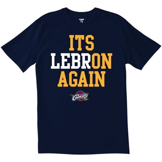 LeBron James Cleveland Cavaliers LeBron Again T-Shirt*** *************for my Braden!!!*******************