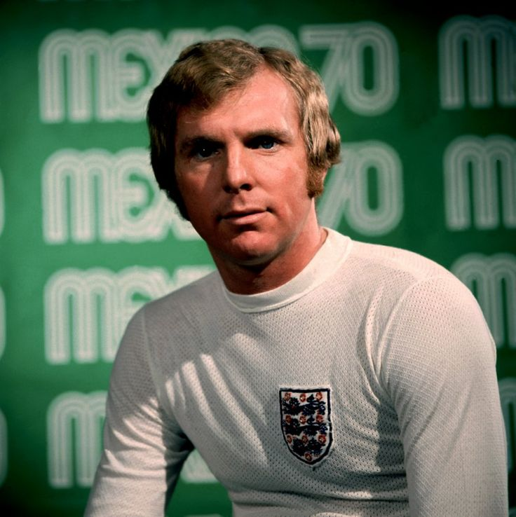 Bobby Moore press photo Mexico 1970 World Cup.