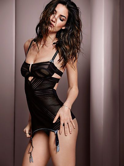 VS Very Sexy Limited Edition Garter Slip - SO sassy!