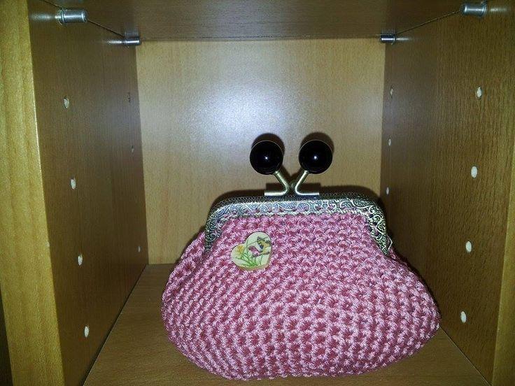 portamonete rosa