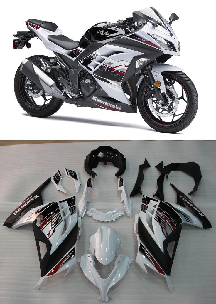 Mad Hornets - Fairings Plastics Kawasaki Ninja 300R EX300R White Art Ninja Racing (2013-2014-2015), $519.99 (http://www.madhornets.com/fairings-plastics-kawasaki-ninja-300r-ex300r-white-art-ninja-racing-2013-2014-2015/)