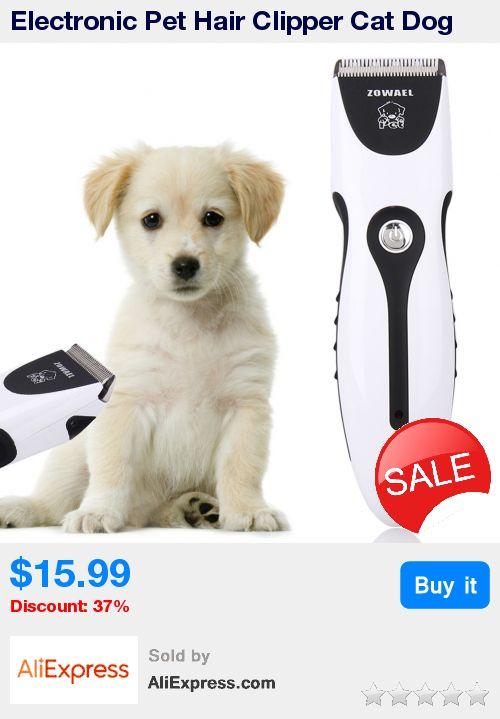 Electronic Pet Hair Clipper Cat Dog Hair Trimmer Grooming Tool EU Plug Dog Haircut Machine Pet Hair Clipper Remover Cutter  * Pub Date: 18:15 Apr 11 2017