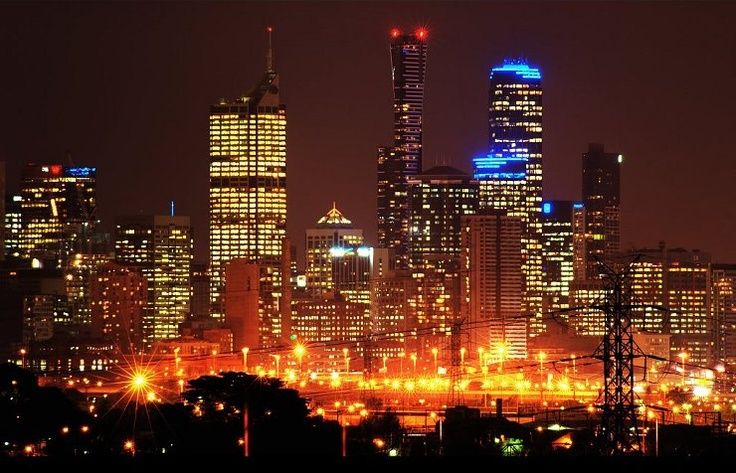Melbourne – glowing home.