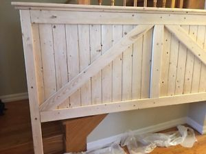 King Size Farmhouse Style Headboard for sale Oshawa / Durham Region Toronto (GTA) image 2