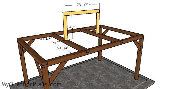 Simple 10x16 Rectangular Gazebo Plans Myoutdoorplans Free Woodworking Plans And Projects Diy Shed Wooden Playhouse In 2020 Gazebo Plans Rectangular Gazebo Gazebo