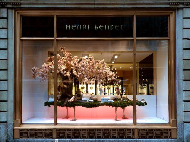 "HENRI BENDEL,New York, ""Fashion on  a Tresure Island"",  creative by Kate McCreary, pinned by Ton van der Veer"