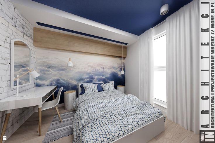 Sypialnia w chmurach - zdjęcie od More IN - Sypialnia - Styl Skandynawski - More IN