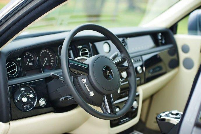 Intérieur luxueux Rolls Royce Phantom