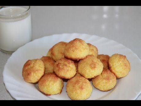 Быстрое печенье из трех ингредиентов БЕЗ МУКИ.  Кокосанка