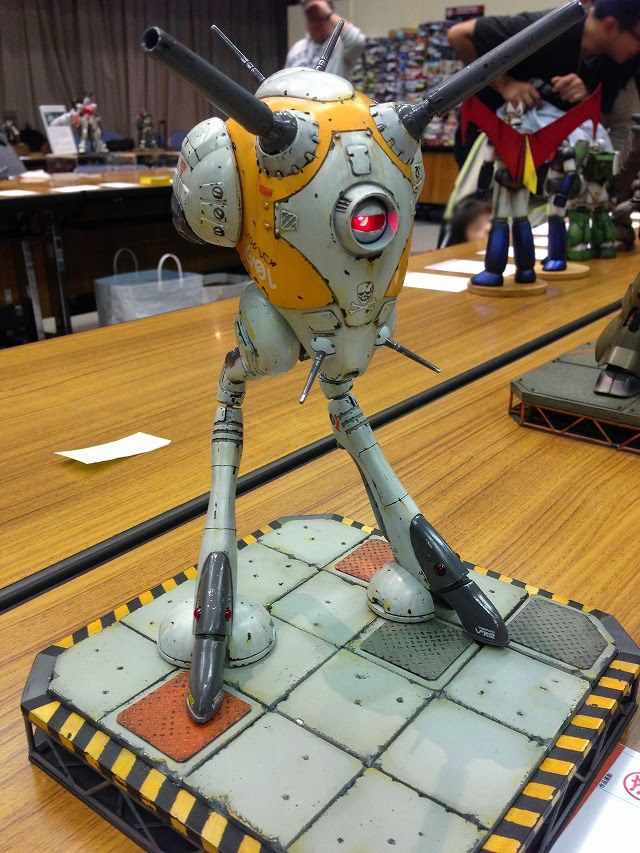 Real Robot Modelers Exhibition 2014 (Koriyama, Japan) - Image Gallery [Part 1]
