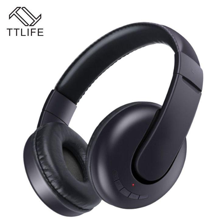 TTLIFE High Quality Headphones Wireless Bluetooth headset V4.1 Sports Stereo super bass Earphone support TFcard Fone De Ouvido