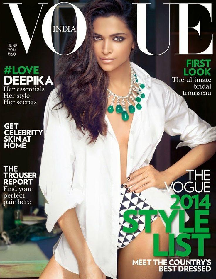 Deepika Padukone Vogue Magazine June 2014 #Photoshoot http://blogonbollybabes.blogspot.in/2014/06/deepika-padukone-vogue-magazine-june-2014-photos.html <3 #bollywoodactress #vogueindia #magazinecover #covergirl