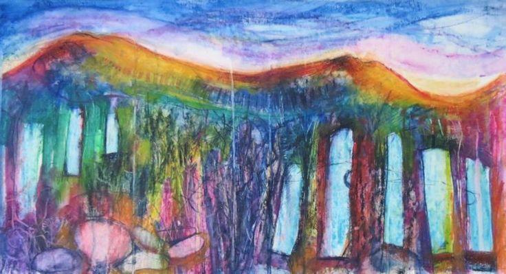 Moelwyns Derwent art bar on paper
