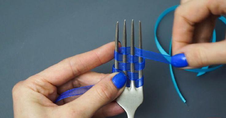 pour faire de jolis petits noeuds