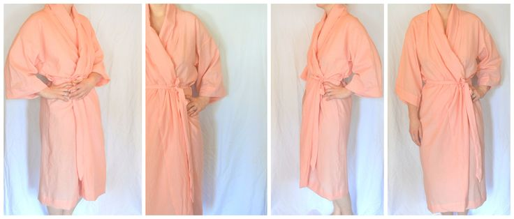 A free layout and tutorial to make a handmade bathrobe, the perfect gift for a brand new mama or any lady in your life.