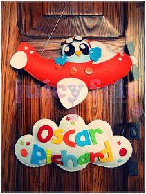 Juicy felt: Il fiocco nascita di Oscar Richard