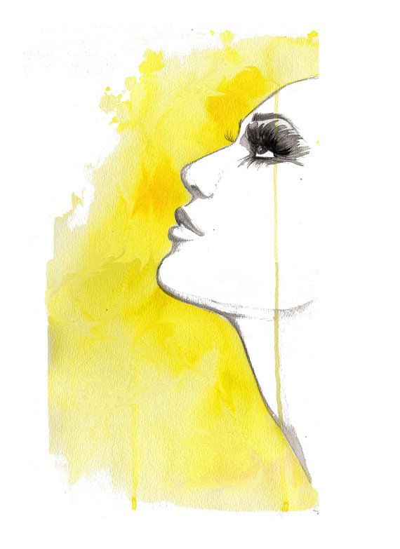 This is a print from my original watercolor and mixed media fashion illustration, Sunny Days Ahead. This print version is sized 8.5 x 11, but you can convo me if interested in custom print size options. Print is on high quality color laser 80lb paper and comes signed and dated. Shipped in a cardboard flat mailer for safe arrival.  Convo me if interested in a custom sizing listed below: 16 x 20 Print price $75 18 x 24 Print price $90 24 x 36 Print price $175 36 x 48 Print price $225  Thank…