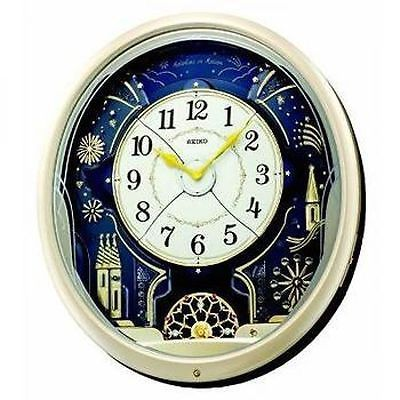 #Seiko qxm239s analogue #musical #melodies in motion pendulum antique wall clock ,  View more on the LINK: 	http://www.zeppy.io/product/gb/2/281634580846/
