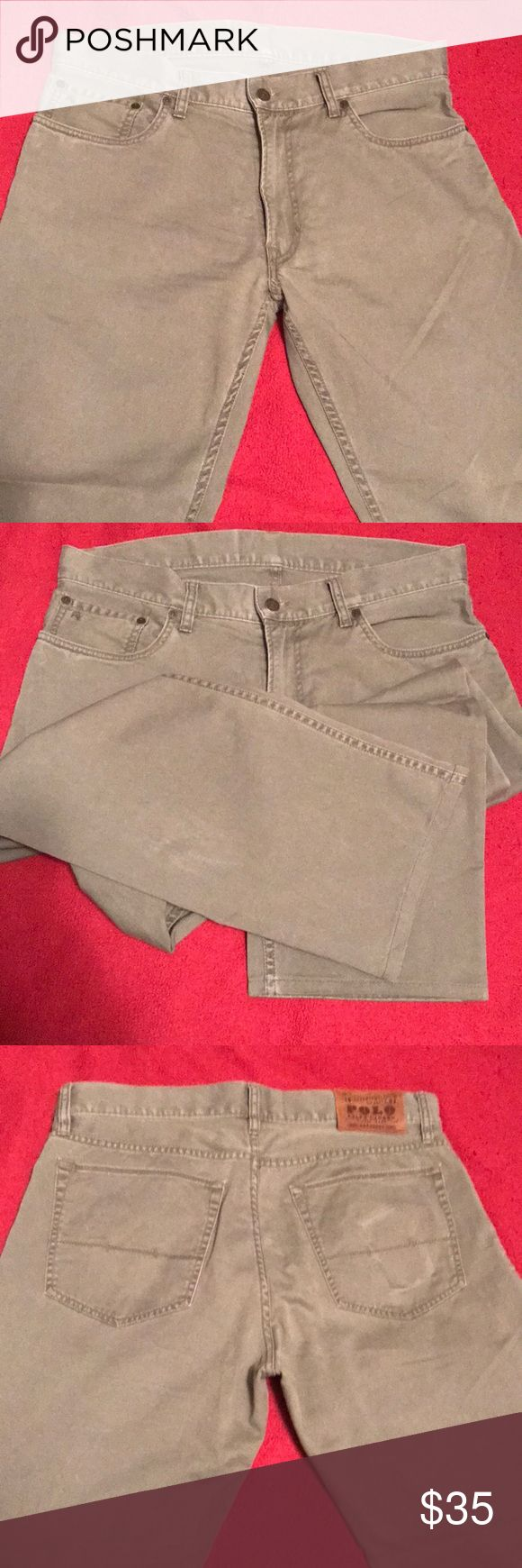 """Ralph Lauren 650 Chino Pants Men's chino pants, straight leg fit.  32"""" inseam. Low rise. excellent condition, worn only a few times. Lauren Ralph Lauren Pants Chinos & Khakis"""