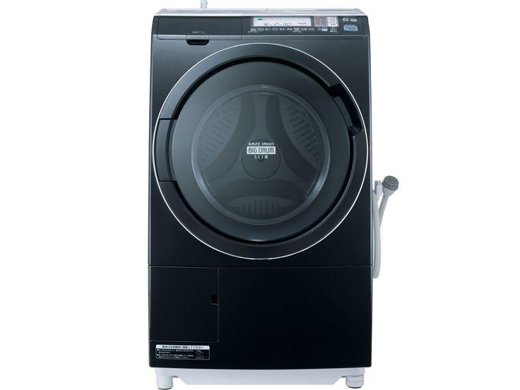 ヒートリサイクル 風アイロン ビッグドラム スリム BD-S7400L(K) [メタリックブラック] の製品画像
