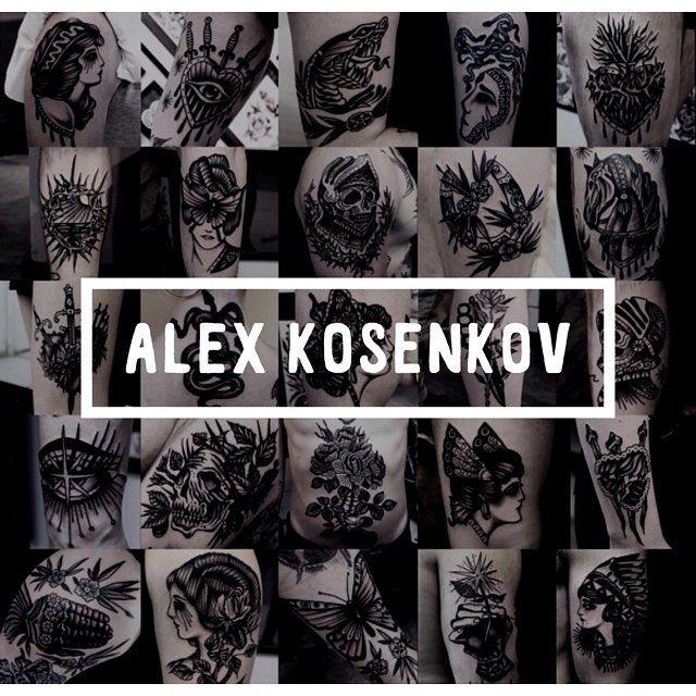 Nästa vecka får vi även besök av @kosenkovtattooer kontakta studion eller Alex direkt för att boka. Ha en bra helg! #stockholmcity #sodermalm #tatuering #stockholm #bondegatan