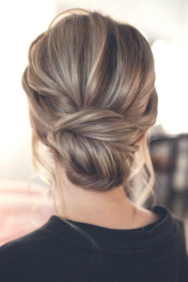 messy updo low bun wedding hairstyle by Tonyastylist #weddings #we … – weddings – #Bun #chaotic #hole hairstyle