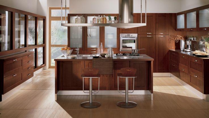Home kuchyň s ostrůvkem / kitchen with island
