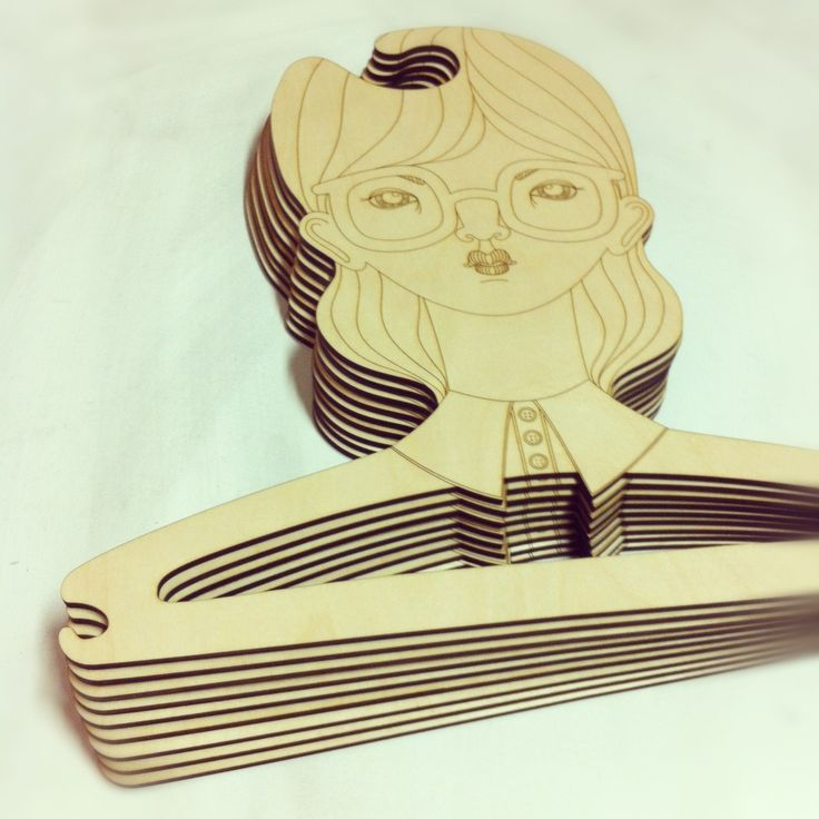 A new Batch of Laser engraved plywood coat hangers are off today to our friend and neighbor Poola. Check out more of their work here: http://www.poolakataryna.fi/
