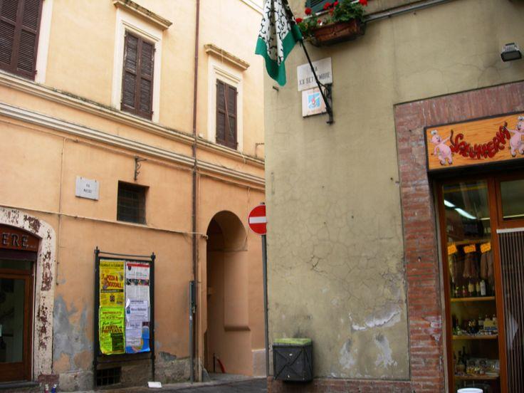 Camerino, incrocio tra Via Massei e Via XX Settembre, 2014.