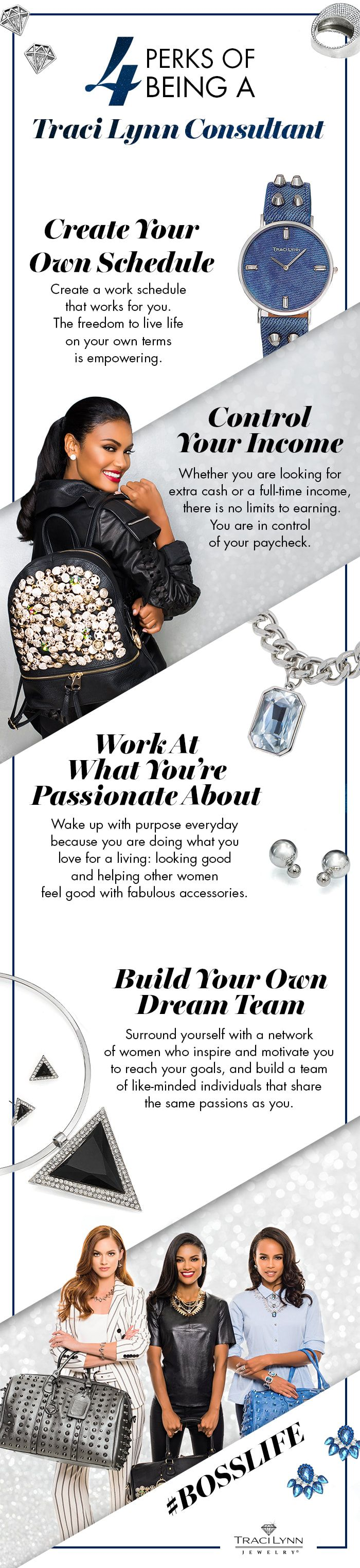 4 Perks of Being A Traci Lynn Consultant. #TraciLynnJewelry