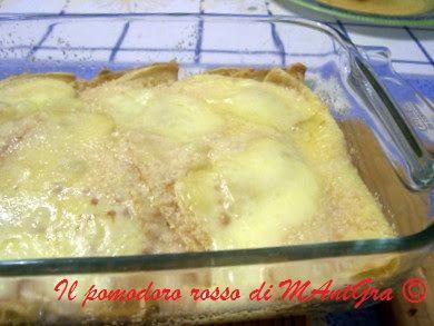 Il Pomodoro Rosso di MAntGra: Crespelle di Raclette e prosciutto
