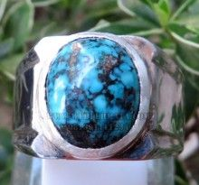 Cincin Pirus Persia Porselen - Web Batu Permata, Koleksi Batu Permata, Batu Mulia, Jual Harga Murah